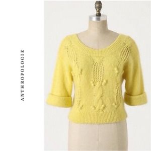 Anthropologie Clarissa Labin Sun Spun Knit Sweater